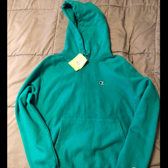 05942446cd3b Champion Other - Champion Teal Men s Hoodie